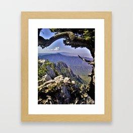 Mountains in the Distance - Landscape Framed Art Print