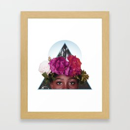 The Best Flowers to Give a Girl Framed Art Print