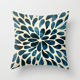 Petal Burst #5 Throw Pillow