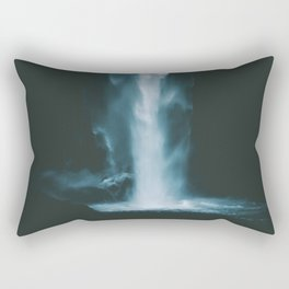 Thundering Falls III Rectangular Pillow
