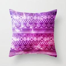 Tribal Fuschia.  Throw Pillow