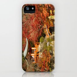 Autumn colours at Daigo-ji Temple in Kyoto, Japan iPhone Case
