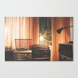sound of home Canvas Print