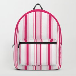 Pink 'alicious Stripes Backpack