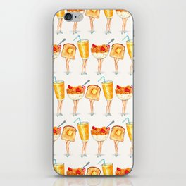 Breakfast Pin-Ups iPhone Skin