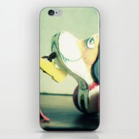 snoopy iPhone & iPod Skins featuring Snoopy dog by Gail Griggs