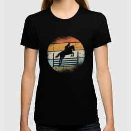 Horse Jumping Design T-shirt