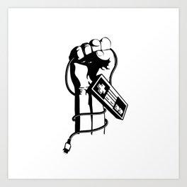 Retro Revolution Art Print