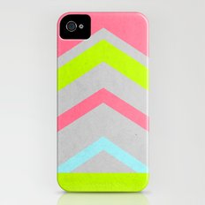 Abstract Neon Slim Case iPhone (4, 4s)