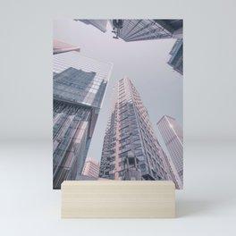 Hongkong skyscraper Mini Art Print