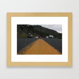 Road kill Framed Art Print
