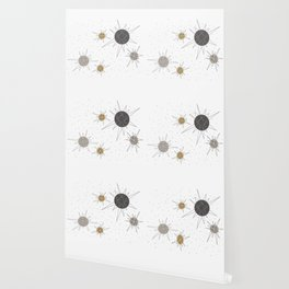 Atomic Stars Neutral Wallpaper
