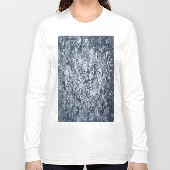 Abstract black painting Long Sleeve T-shirt