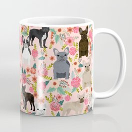 French Bulldog must have florals gifts dog breed pet lover frenchies forever Coffee Mug