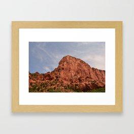 Kolob Canyons Zion Framed Art Print