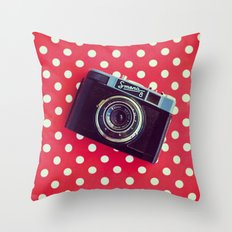 Smena Throw Pillow