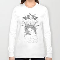 dreams Long Sleeve T-shirts featuring Dreams by Nathalie Otter