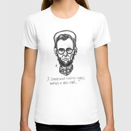 American Hipstory: Abe Lincoln T-shirt