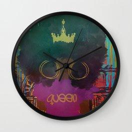 CULTURED QUEEN Wall Clock