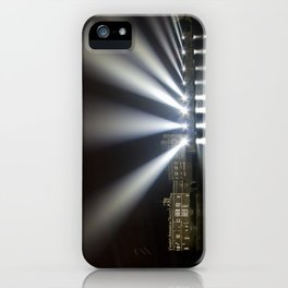 Leeds Castle Laser Light Display iPhone Case