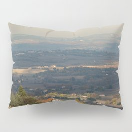 Sunset Italian countryside landscape view Pillow Sham