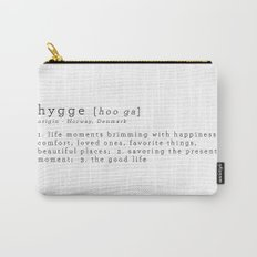THE MEANING OF HYGGE Carry-All Pouch