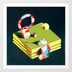 Much Ado in Candyland IRLRTS edition Art Print