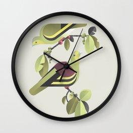 Sri Lanka Green-pigeon (cln) Wall Clock