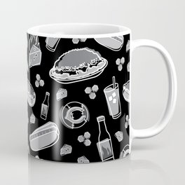 Skyline Chili Pattern Night Coffee Mug