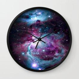 Dark Unicorn Orion Nebula Wall Clock