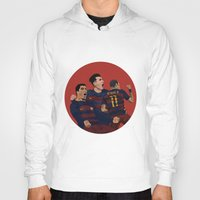 neymar Hoodies featuring MSN by siddick49