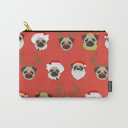 Xmas Pugs Carry-All Pouch