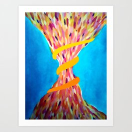 Color Funnel Art Print