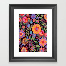 Just Flowers Framed Art Print