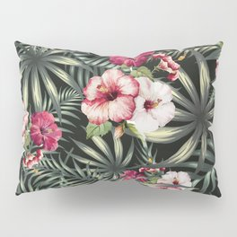 Tropical leave pattern 11.1 Pillow Sham
