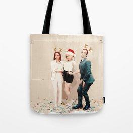 Stella, Olivia and Jason -Holidays Edition Tote Bag