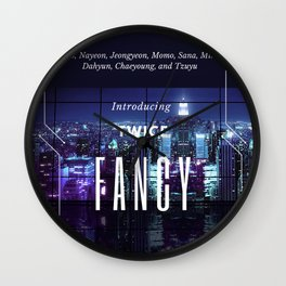 introducing: fancy Wall Clock