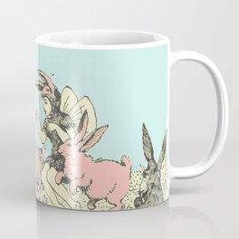 Frolicking Bunnies Coffee Mug