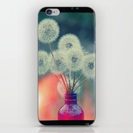 Dandelion Bouquet Lomo SQ iPhone Skin