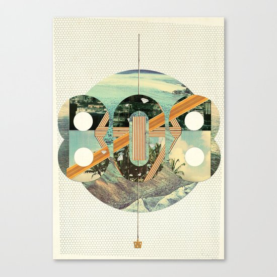 808 State Canvas Print