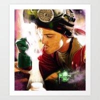 jesse pinkman Art Prints featuring Jesse Pinkman by p1xer