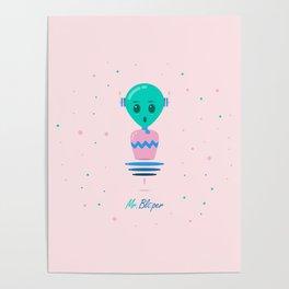 Alien Bubbles Poster