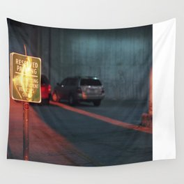 reserved parking Wall Tapestry