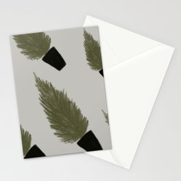 MINIMALIST SCANDINAVIAN / NORDIC CHRISTMAS TREE FOR CHRISTMAS SEASON Stationery Cards