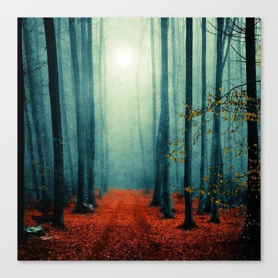 Landscape (colour option) Canvas Print