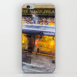 The Nags Head Pub Covent Garden London iPhone Skin