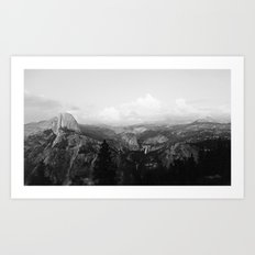 Yosemite x Glacier Point Art Print
