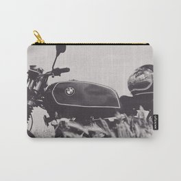 Scrambler photography, motorcycle lovers, motorbike, café racer, cafe racer, man cave gift Carry-All Pouch
