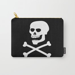 Skull and Crossbones Carry-All Pouch