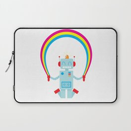 Skipping a Rainbow Laptop Sleeve